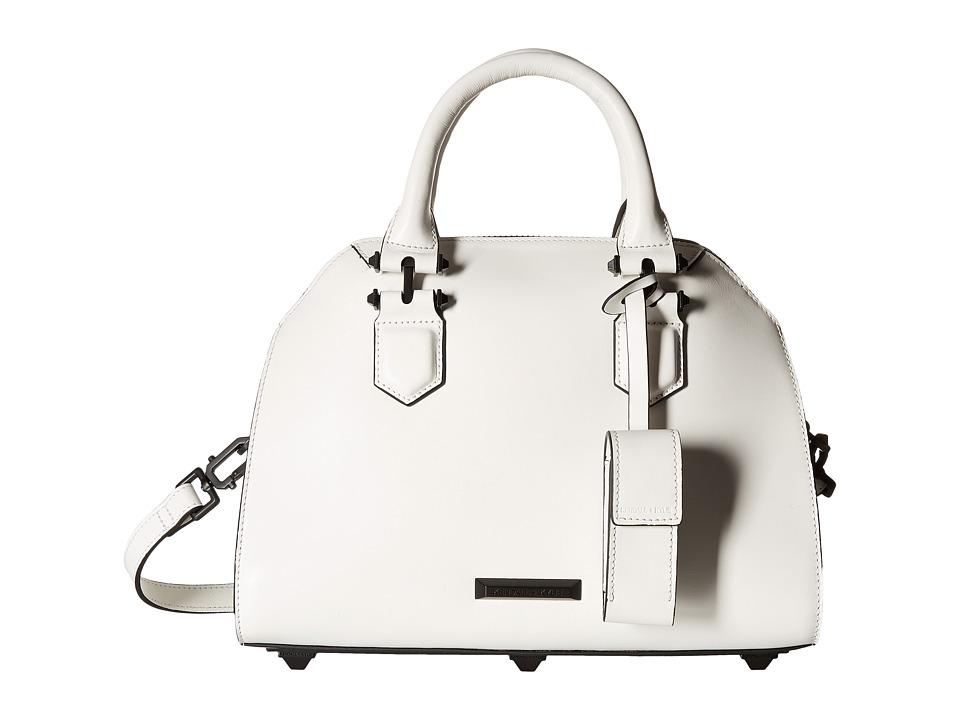 KENDALL + KYLIE - Holly Satchel (White) Satchel Handbags