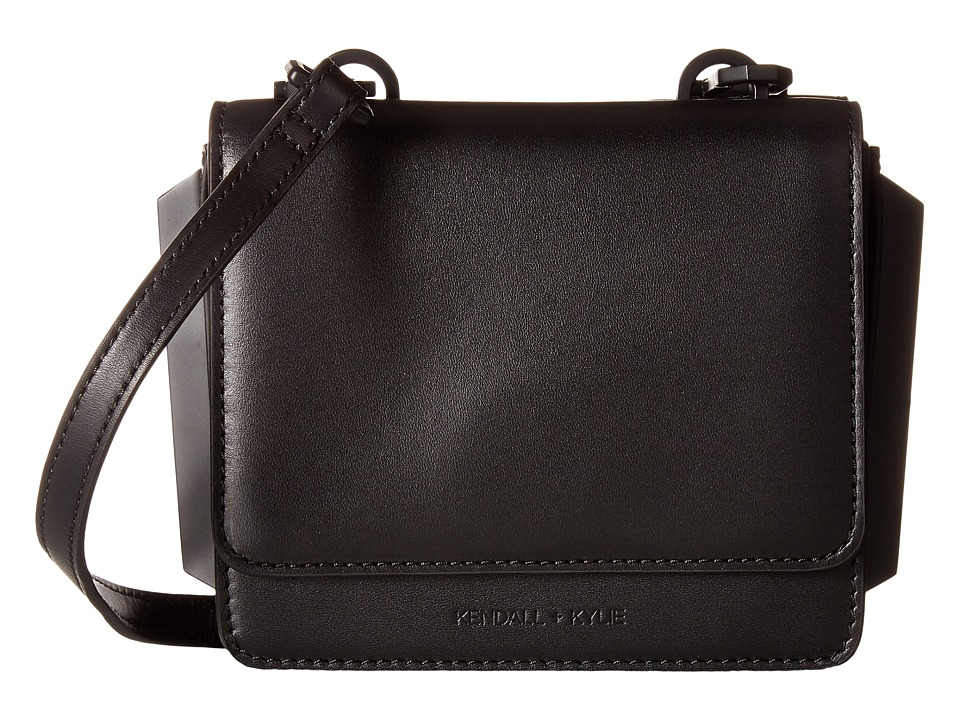 KENDALL + KYLIE - Baxter Mini Crossbody (Black) Cross Body Handbags