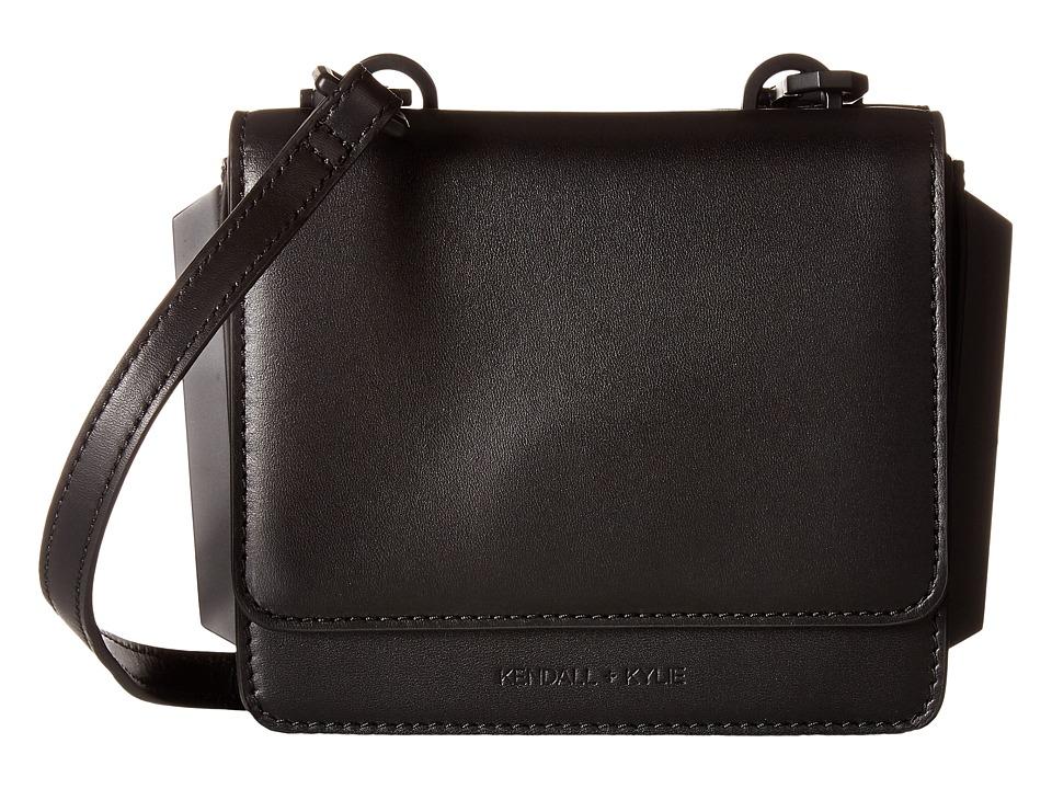 KENDALL + KYLIE - Baxter Mini Crossbody (Black) Cross Body Handbags