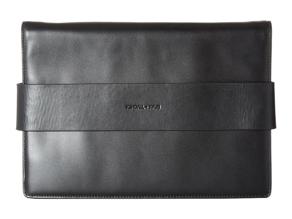 KENDALL + KYLIE - Azuba Clutch (Black) Clutch Handbags