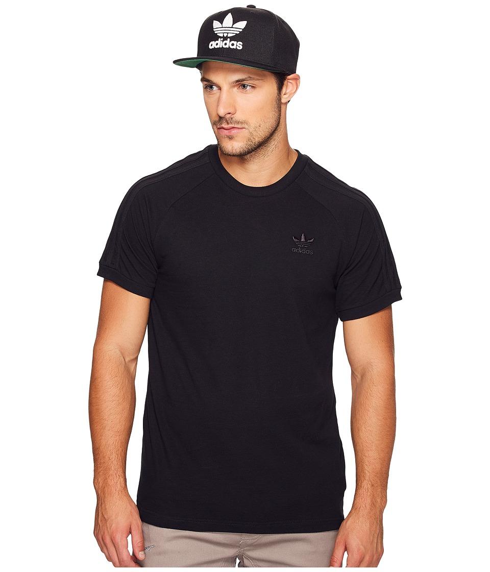 adidas Originals - California Triple Tee (Black) Men's T Shirt