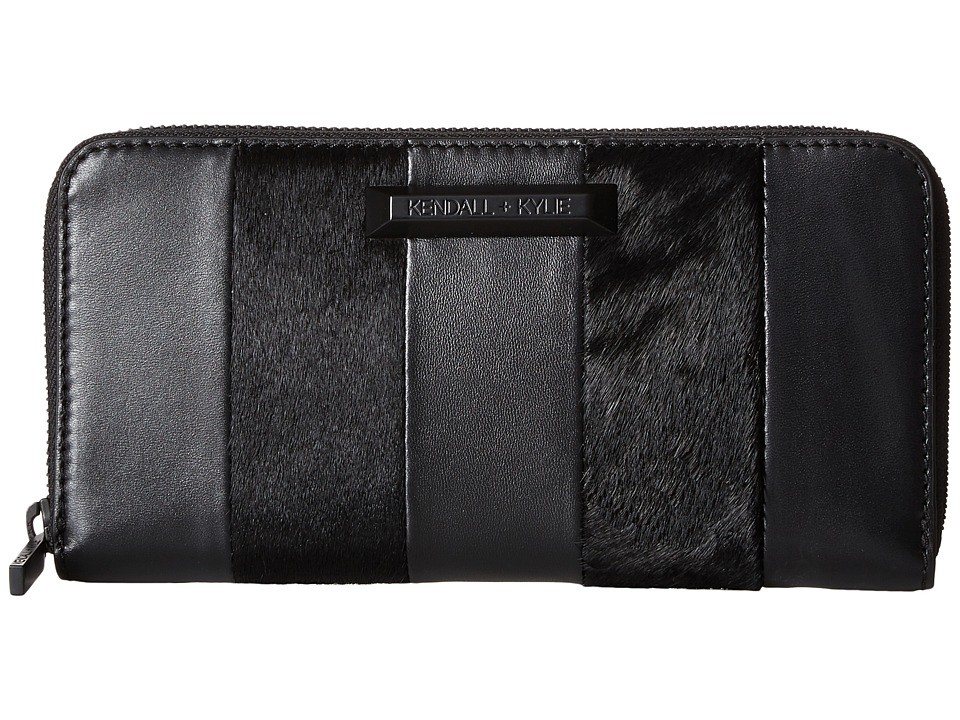 KENDALL + KYLIE - Clarence Wallet (Black) Wallet Handbags