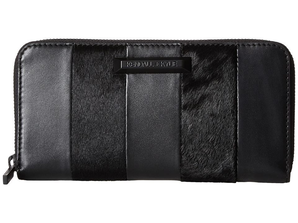 KENDALL + KYLIE - Clarence Wallet (Black) Wallet Handbags