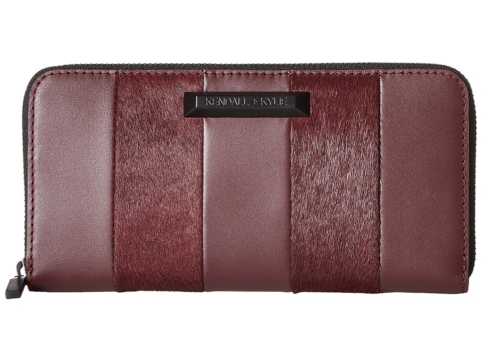 KENDALL + KYLIE - Clarence Wallet (Red Plum) Wallet Handbags