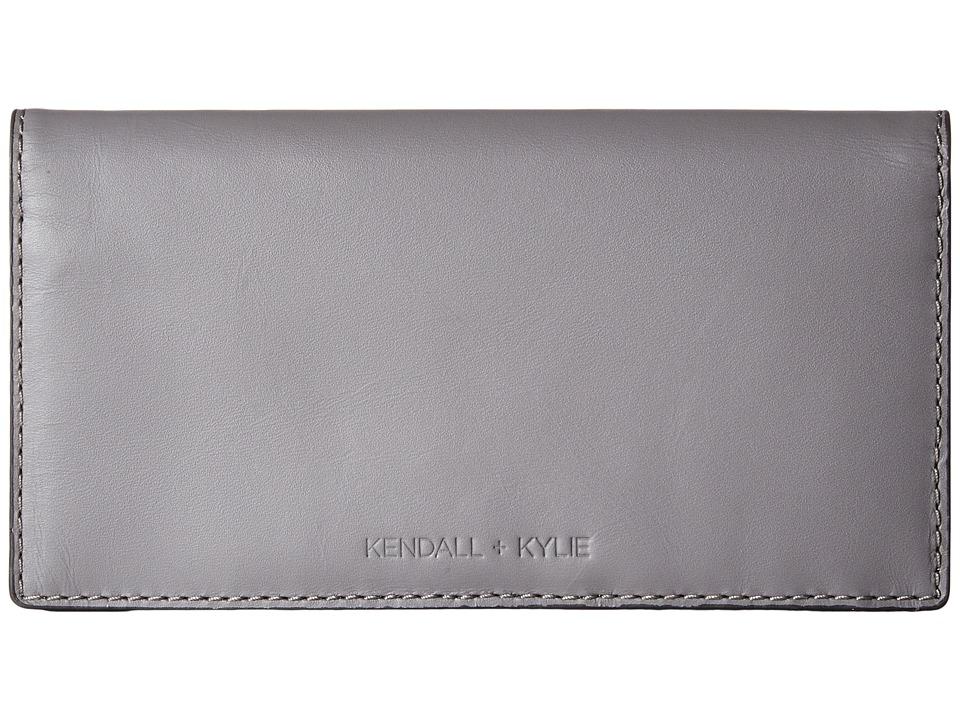 KENDALL + KYLIE - Eton Wallet (Cement Grey) Wallet Handbags