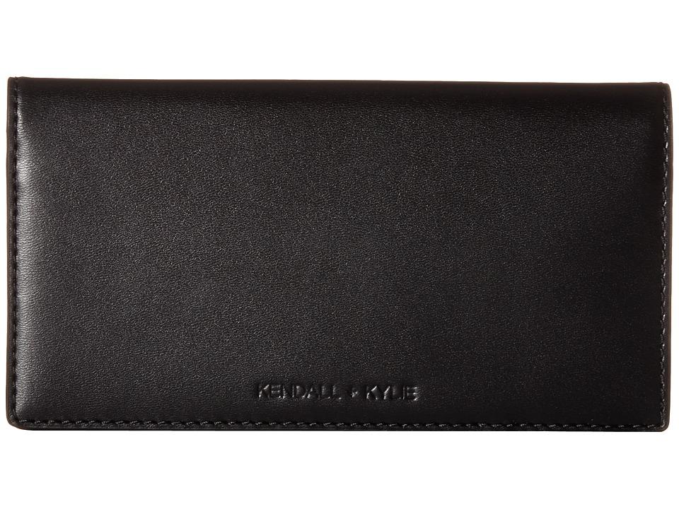 KENDALL + KYLIE - Eton Wallet (Black) Wallet Handbags