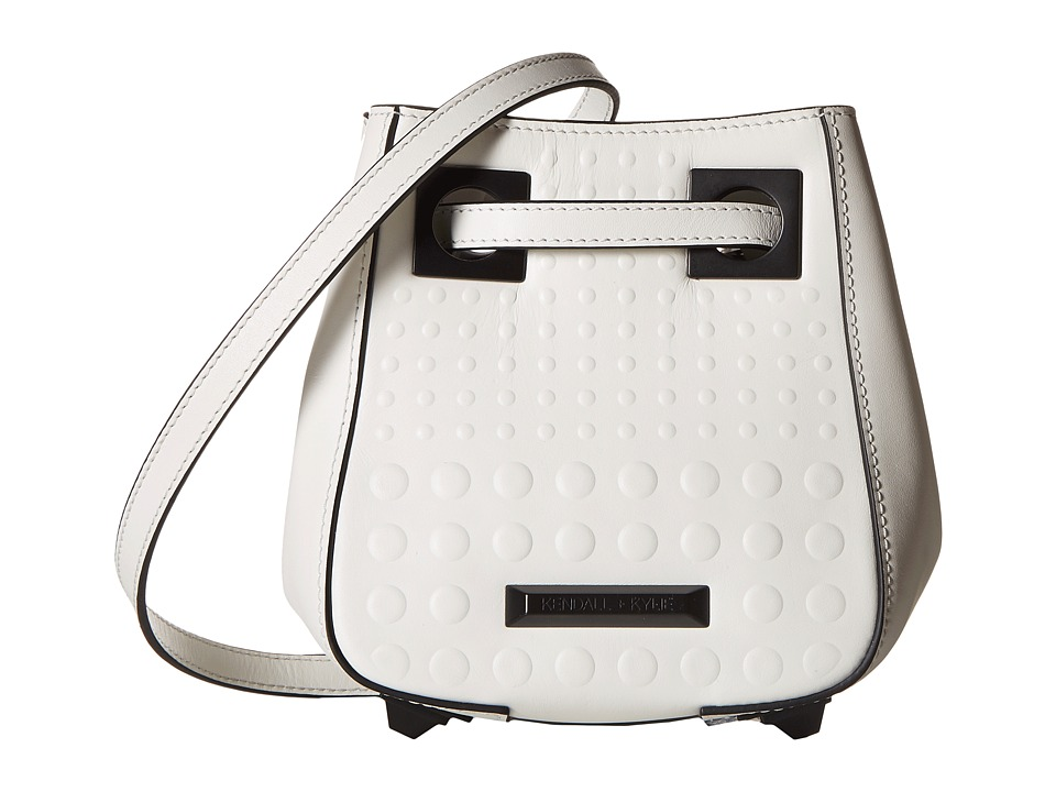 KENDALL + KYLIE - Jules Mini Bucket (White) Handbags