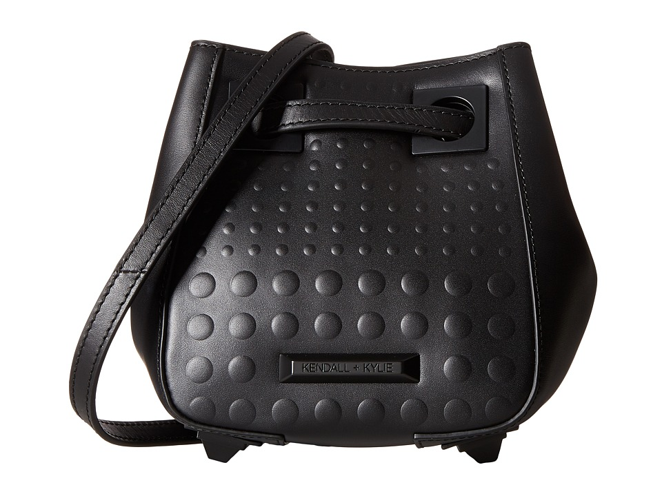 KENDALL + KYLIE - Jules Mini Bucket (Black) Handbags