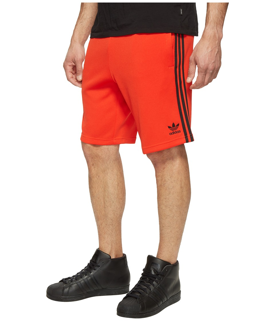 adidas Originals - Superstar Shorts (Core Red/Black) Men's Shorts