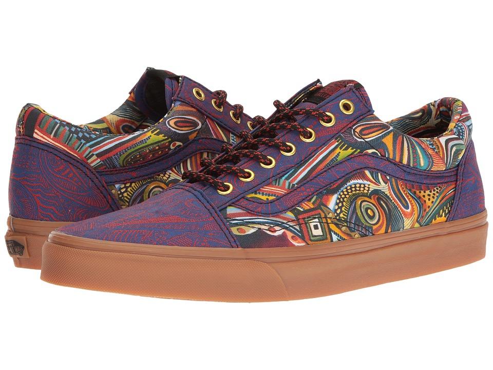 Vans - Old Skool ((OTW Gallery) Zio Ziegler/Gum) Skate Shoes
