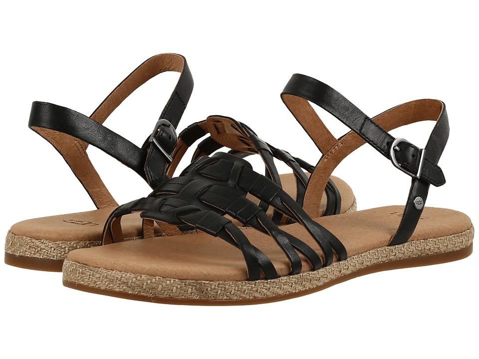 UGG - Larisa (Black) Women's Flat Shoes