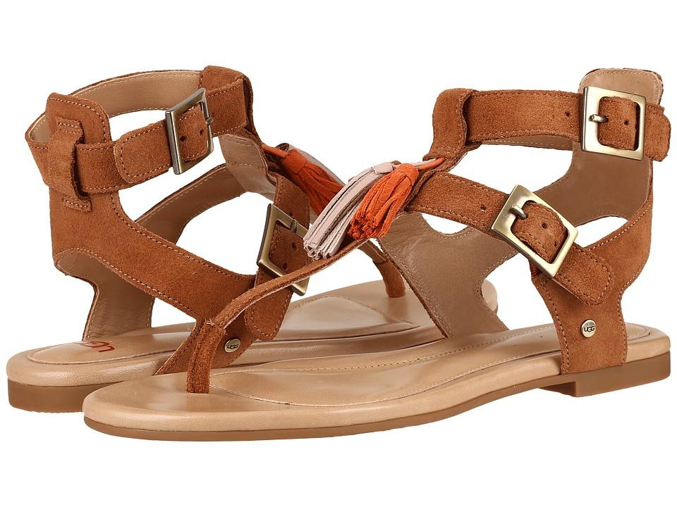 UGG - Lecia (Chestnut) Women's Sandals