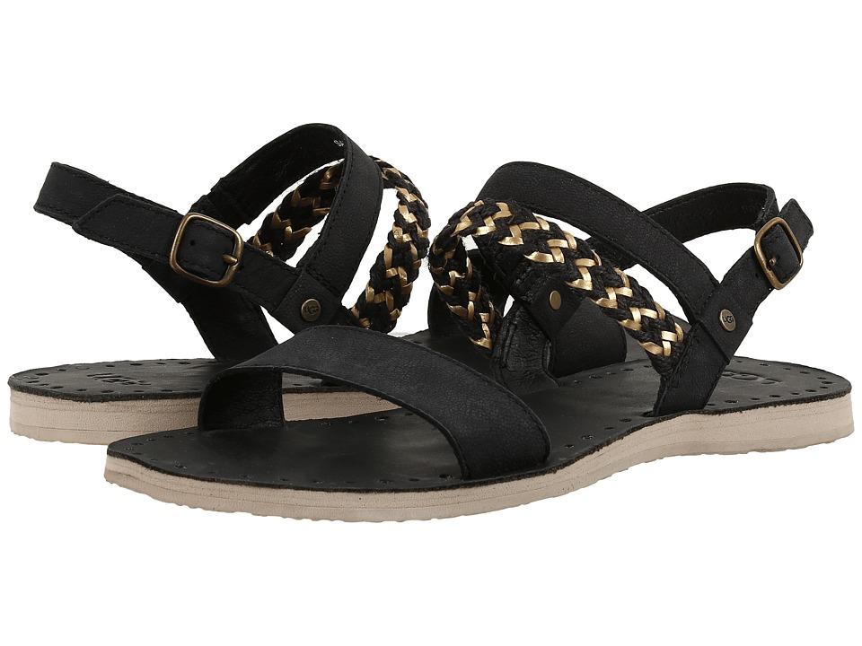 UGG - Elin (Black) Women's Sandals
