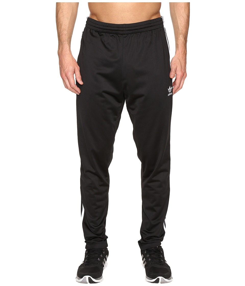 adidas Originals - Open Hem Track Pants (Black) Men's Casual Pants