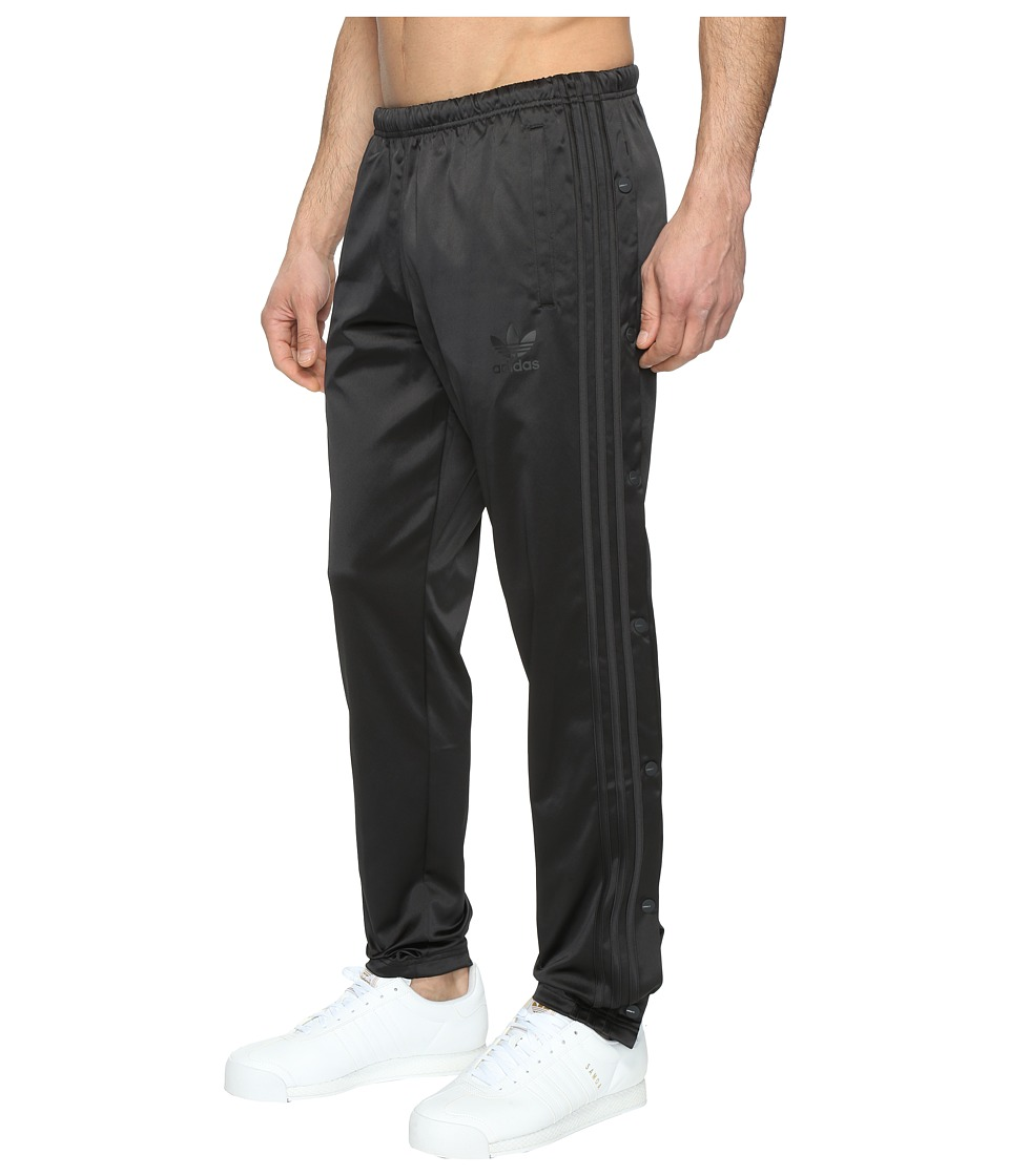 adidas Originals - Button Down Track Pants (Black) Men's Casual Pants