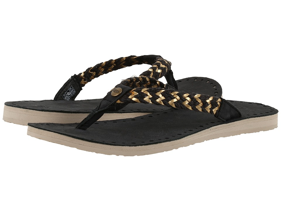 UGG - Navie II (Black) Women's Sandals