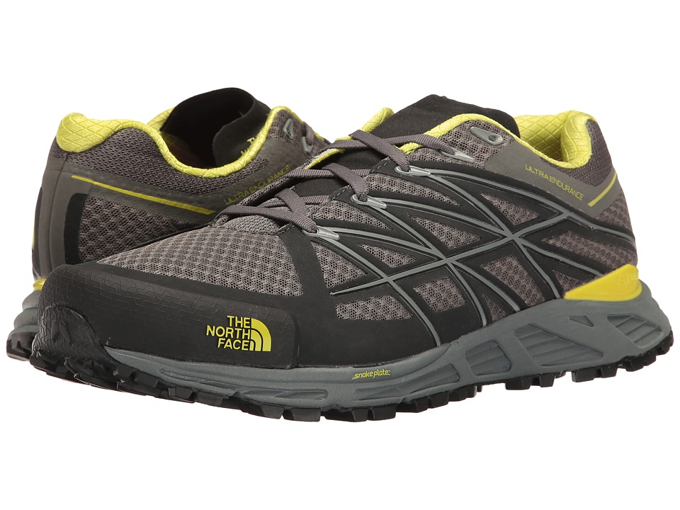 The North Face - Ultra Endurance (Graphite Grey/Sulphur Spring Green) Men's Running Shoes