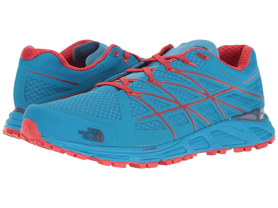 The North Face - Ultra Endurance (Hyper Blue/High Risk Red) Men's Running Shoes