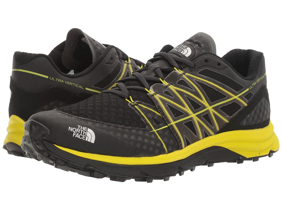 The North Face - Ultra Vertical (TNF Black/Sulphur Spring Green (Prior Season)) Men's Shoes