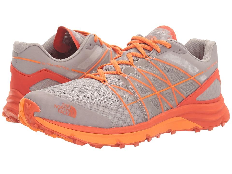 The North Face - Ultra Vertical (Foil Grey/Exuberance Orange) Men's Shoes