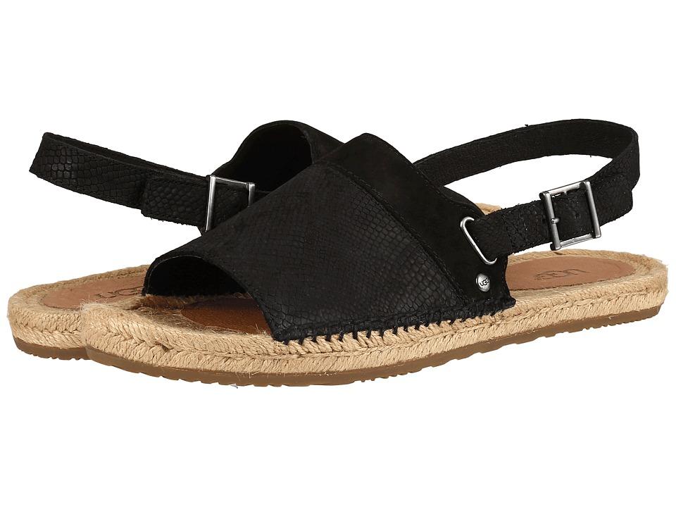 UGG - Isadora Snake (Black) Women's Sandals