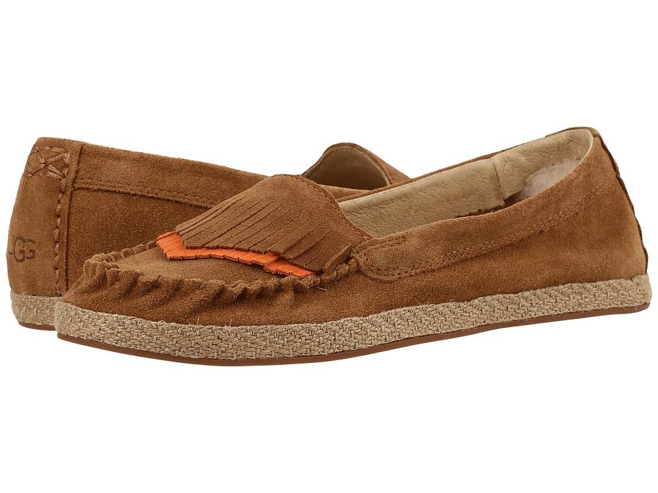 UGG - Shiri (Chestnut) Women's Flat Shoes