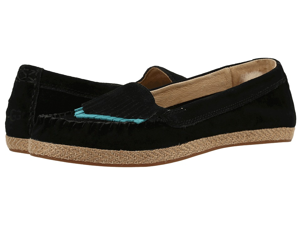 UGG - Shiri (Black) Women's Flat Shoes