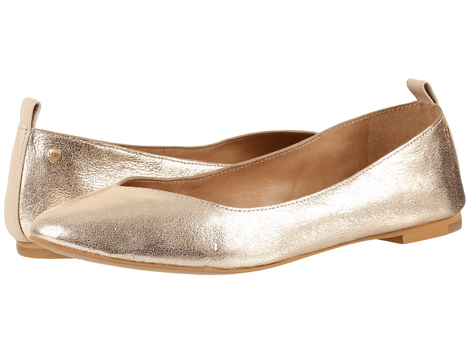UGG - Lynley Metallic (Gold) Women's Flat Shoes