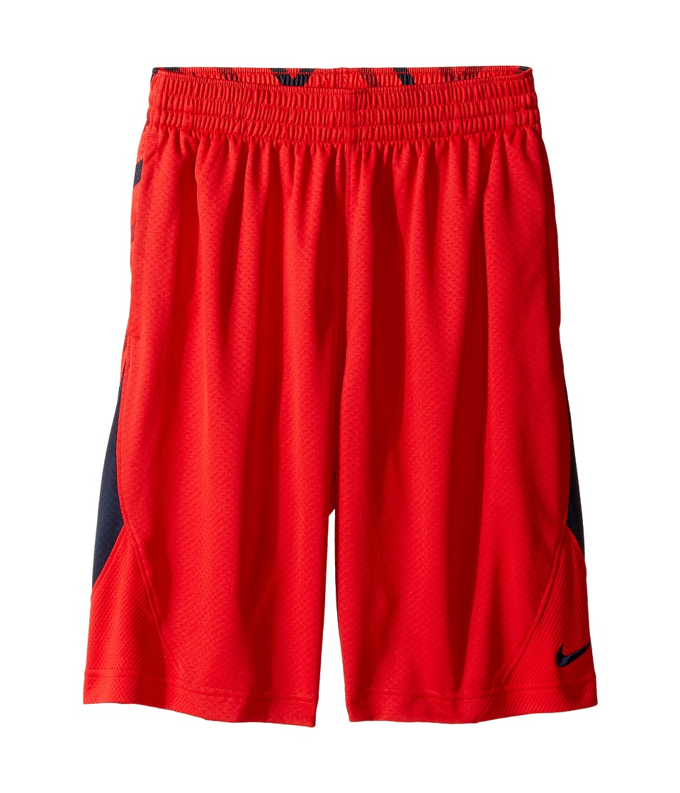 Nike Kids - Avalanche Allover Print Short (Little Kids/Big Kids) (University Red/Obsidian/Obsidian) Boy's Shorts