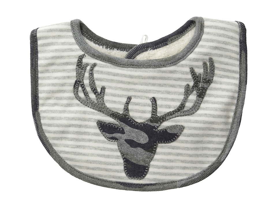 Mud Pie - Camo Stag Bib (Grey) Accessories Travel