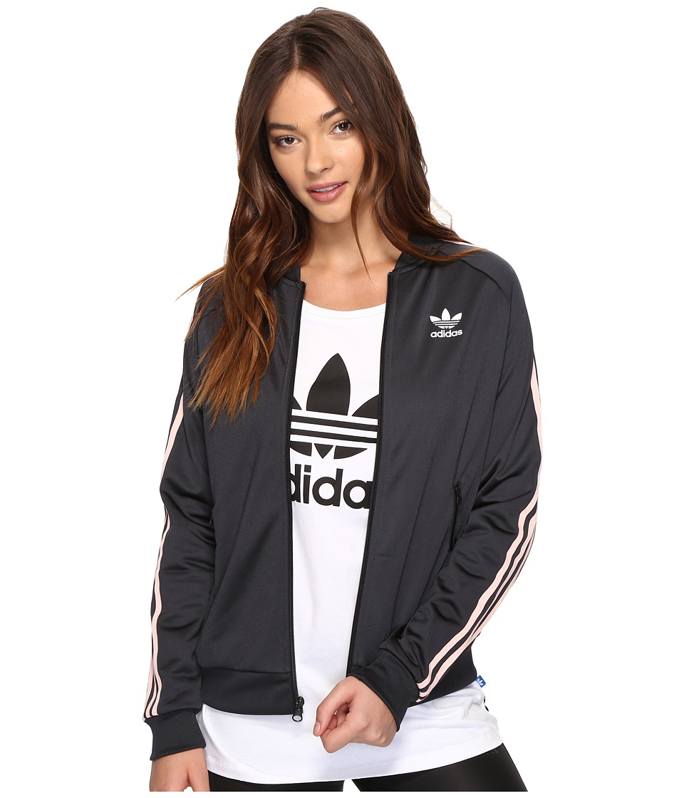 adidas Originals - Superstar Track Top (Black 1) Women's Clothing