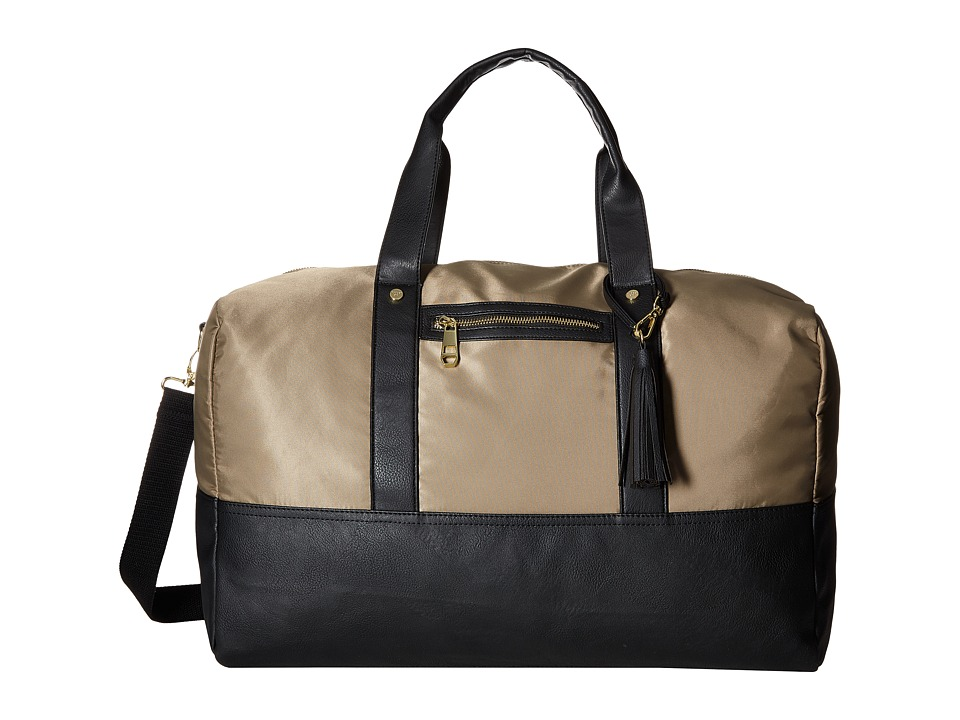 Steve Madden - Mgxcursn by Madden Girl (Natural/Black) Weekender/Overnight Luggage