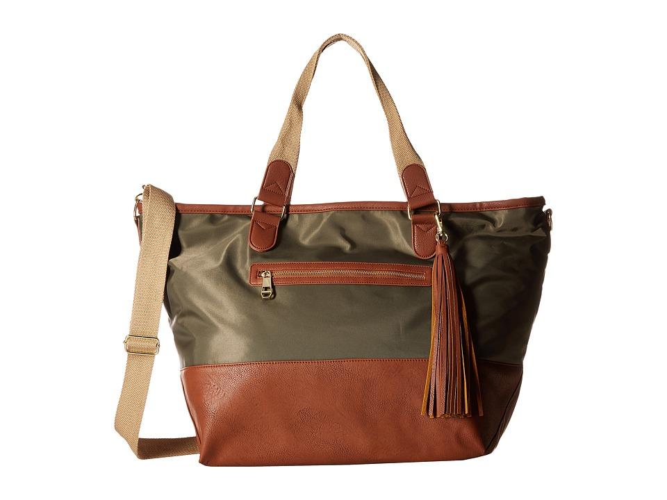 Steve Madden - Mgwarryr by Madden Girl (Olive/Cognac) Handbags