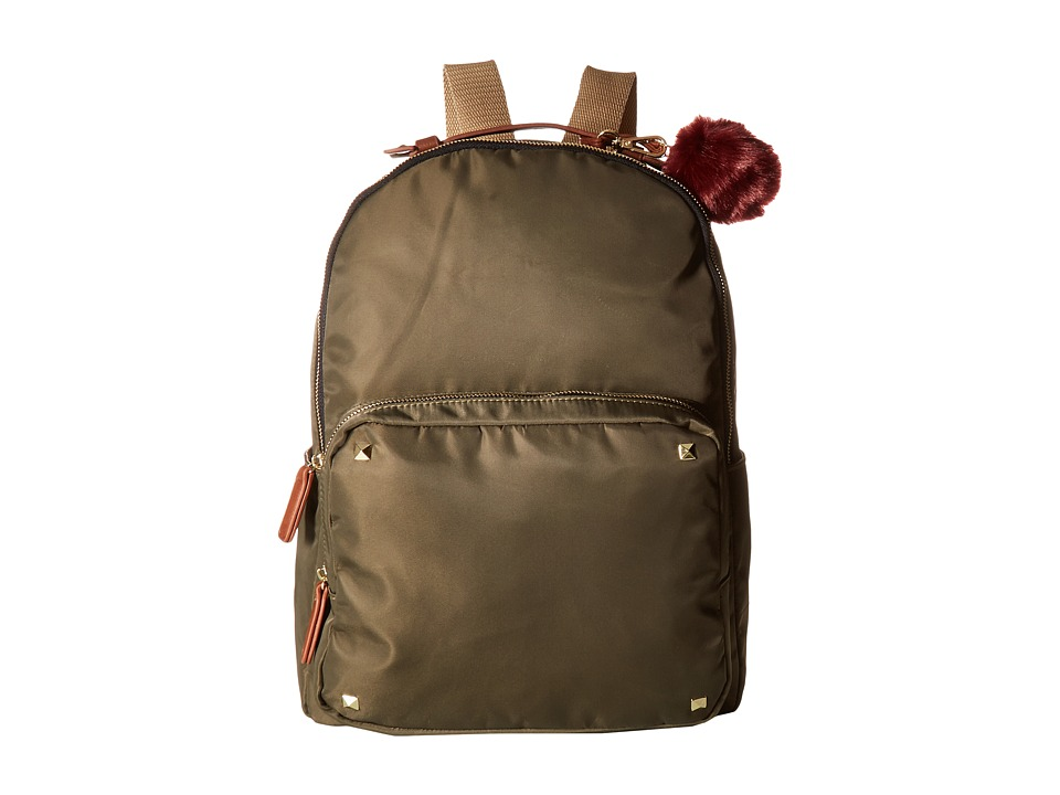 Steve Madden - Mgfont by Madden Girl (Olive/Cognac) Backpack Bags