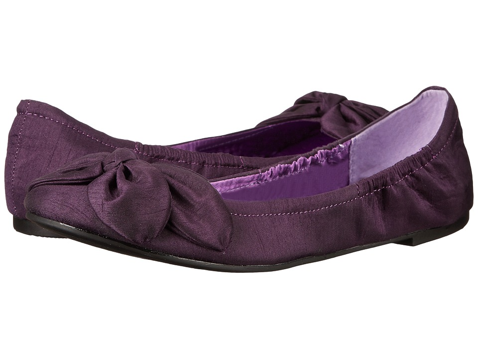 CL By Laundry - Great Life (Plum Organza) Women's Flat Shoes