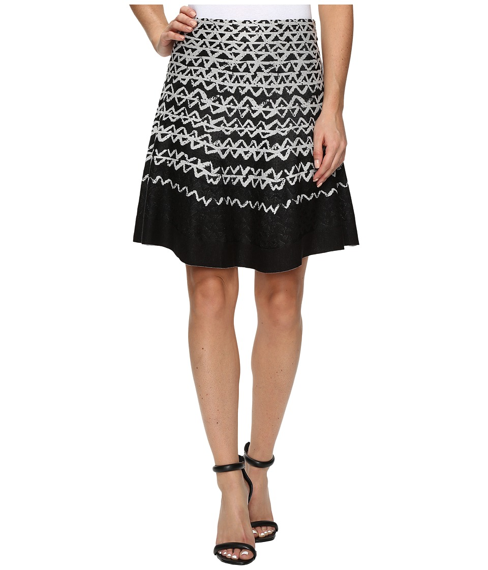 NIC+ZOE Geo Chic Twirl Skirt (Multi) Women