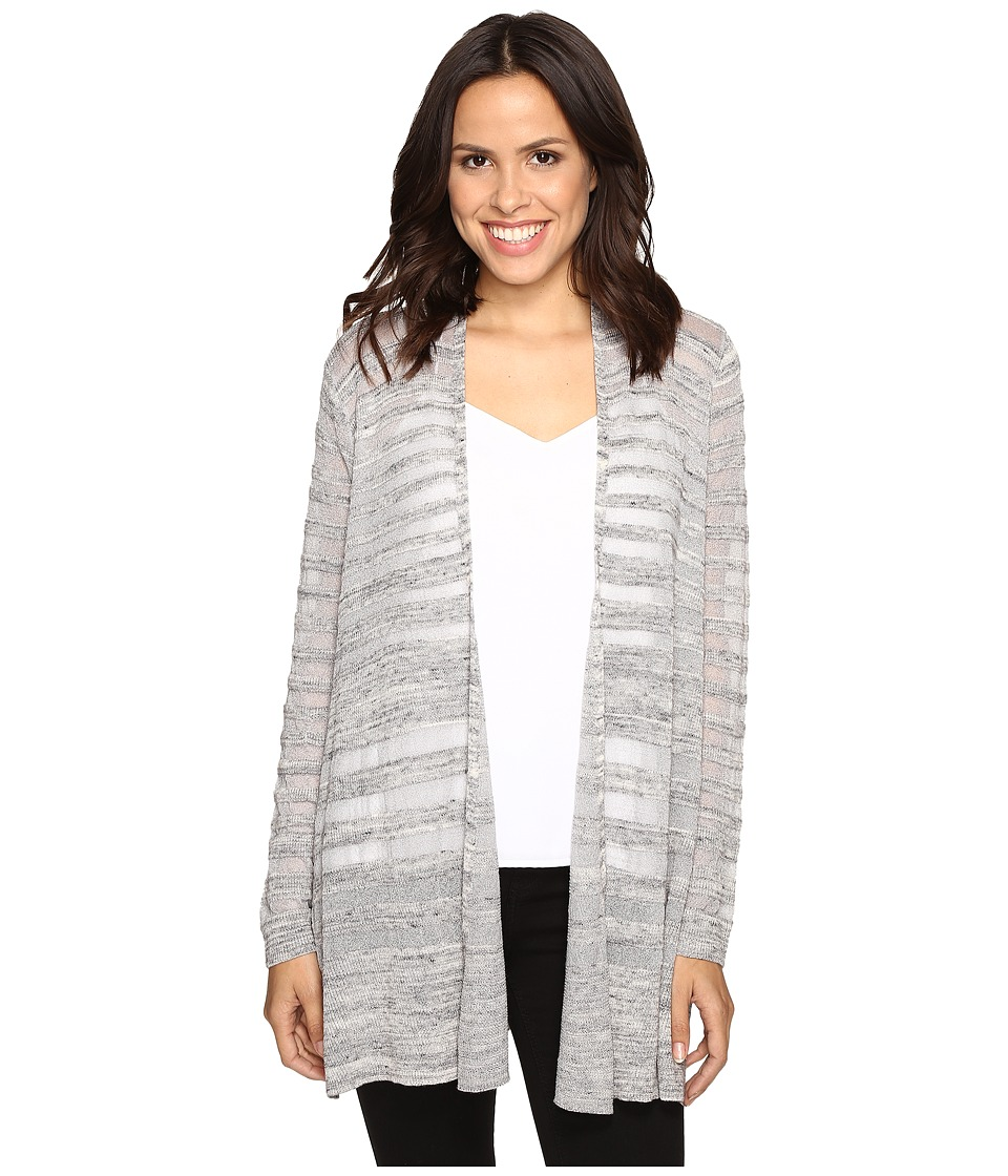 NIC+ZOE - Deep Freeze Cardy (Grey Mix) Women's Sweater