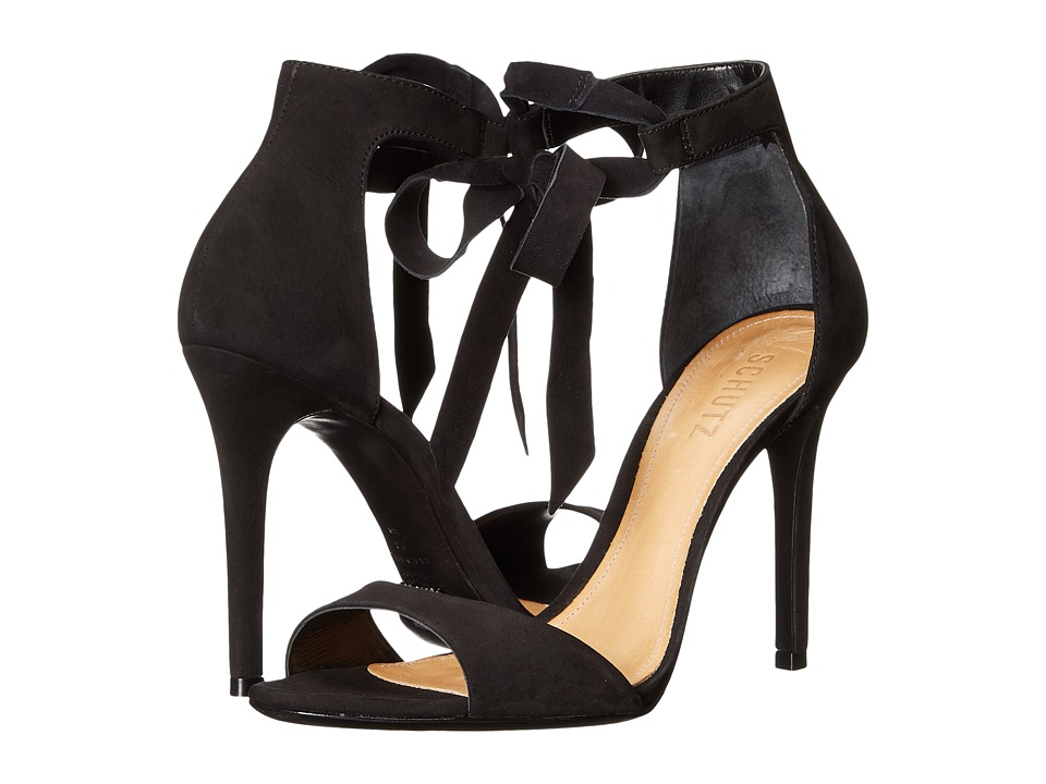 Schutz - Rene (Black) High Heels