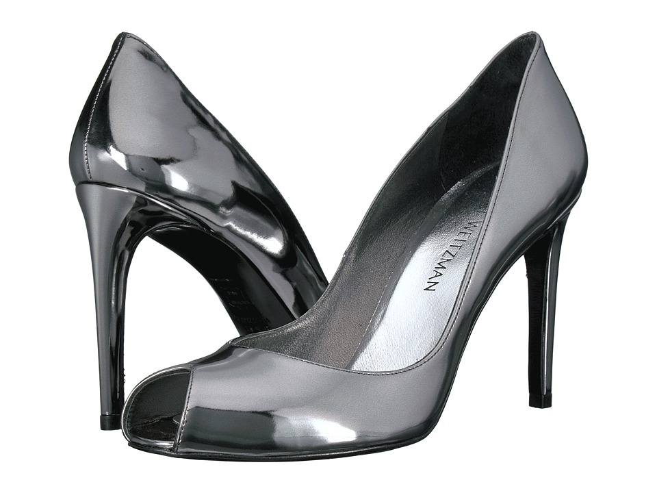 Stuart Weitzman Cachet (Pewter Glass) High Heels