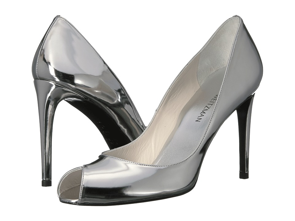 Stuart Weitzman Cachet (Tin Glass) High Heels