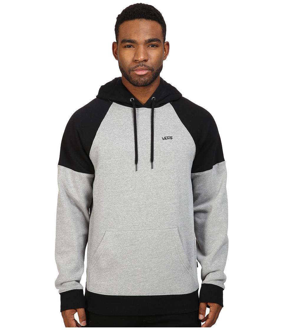 Vans - Core Color Block Pullover II (Cement Heather/Black) Men's Sweatshirt