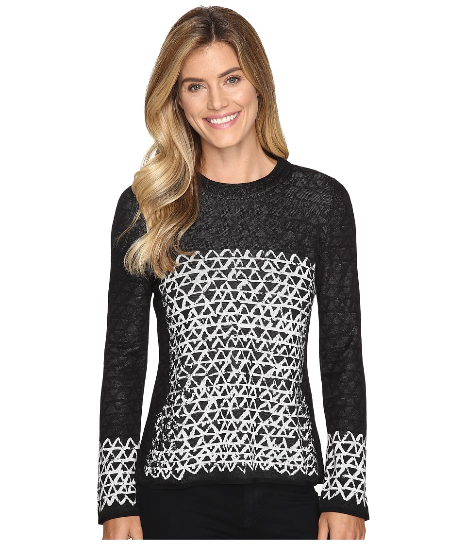 NIC+ZOE - Geo Chic Top (Multi) Women's Sweater