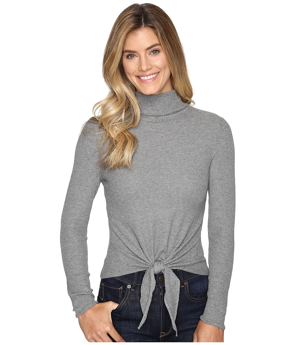 NIC+ZOE - All Tied Up Top (Steel Grey) Women's Clothing