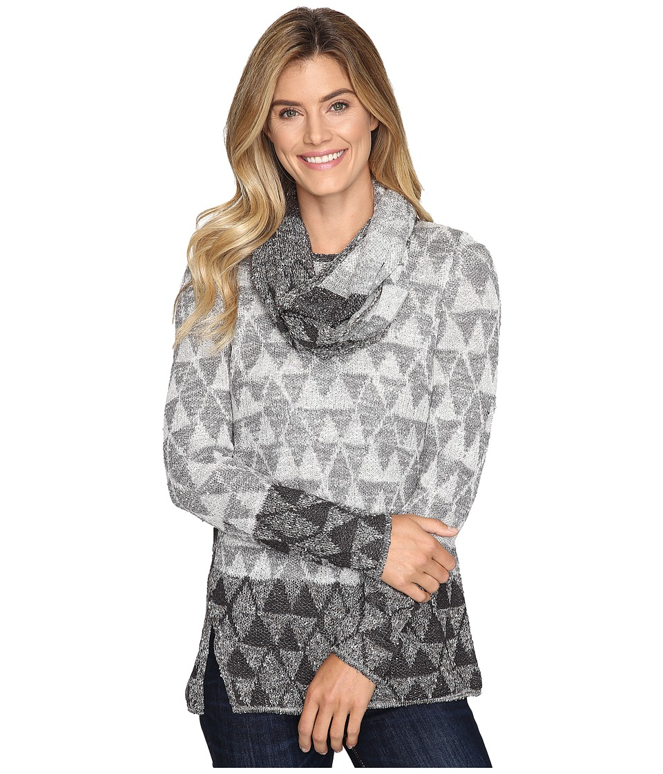 NIC+ZOE - Starstruck Scarf Top (Multi) Women's Clothing