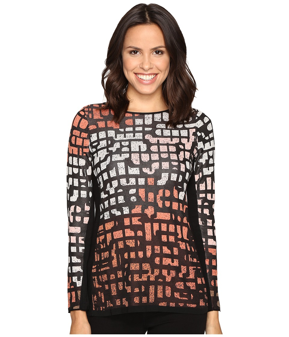 NIC+ZOE - Pattern Play Top (Soft Copper) Women's Clothing