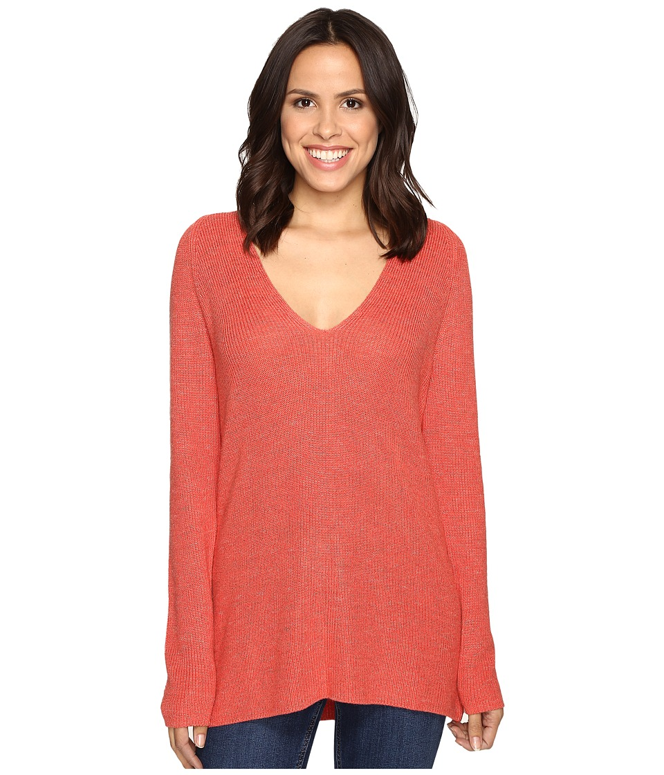 NIC+ZOE - Everyday Mix Top (Spice Berry) Women's Sweater