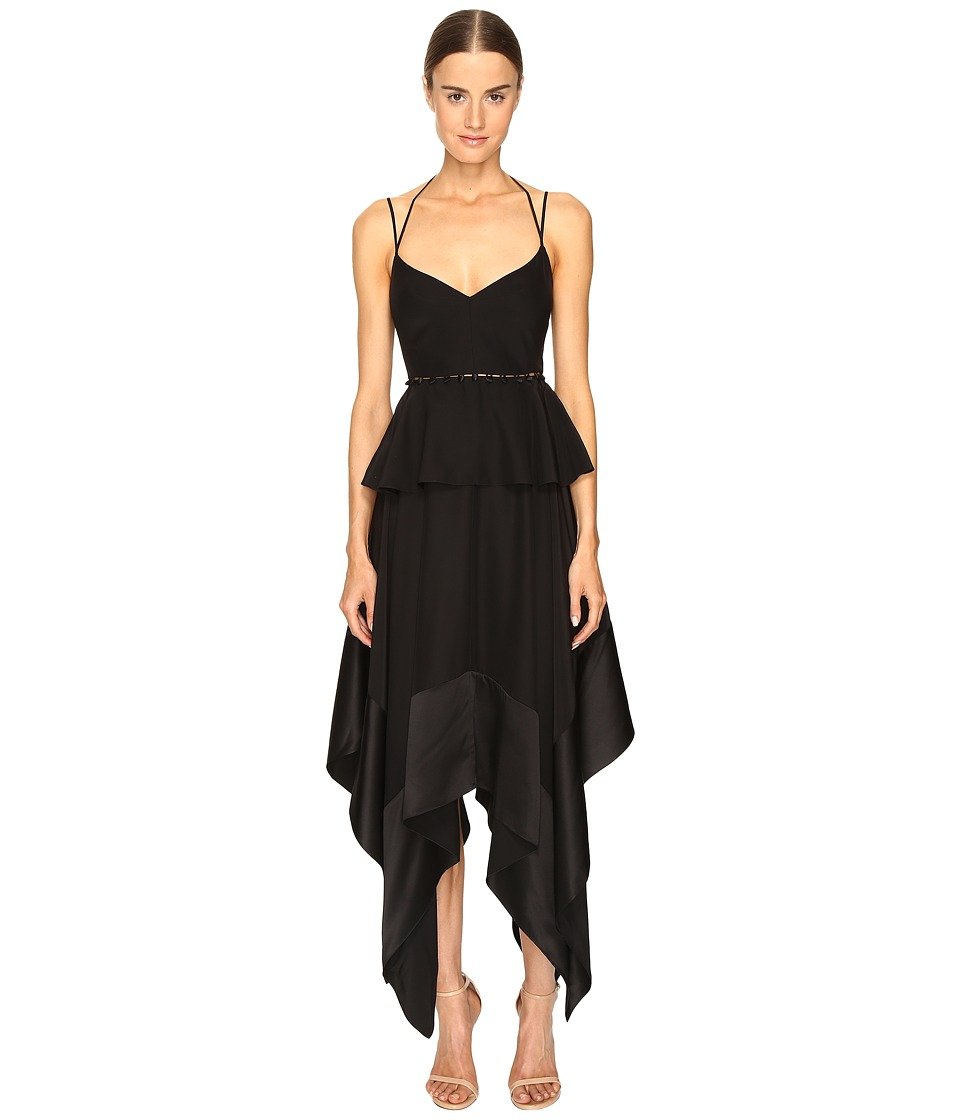 Prabal Gurung Thin Strap Hankerchief Hem Dress