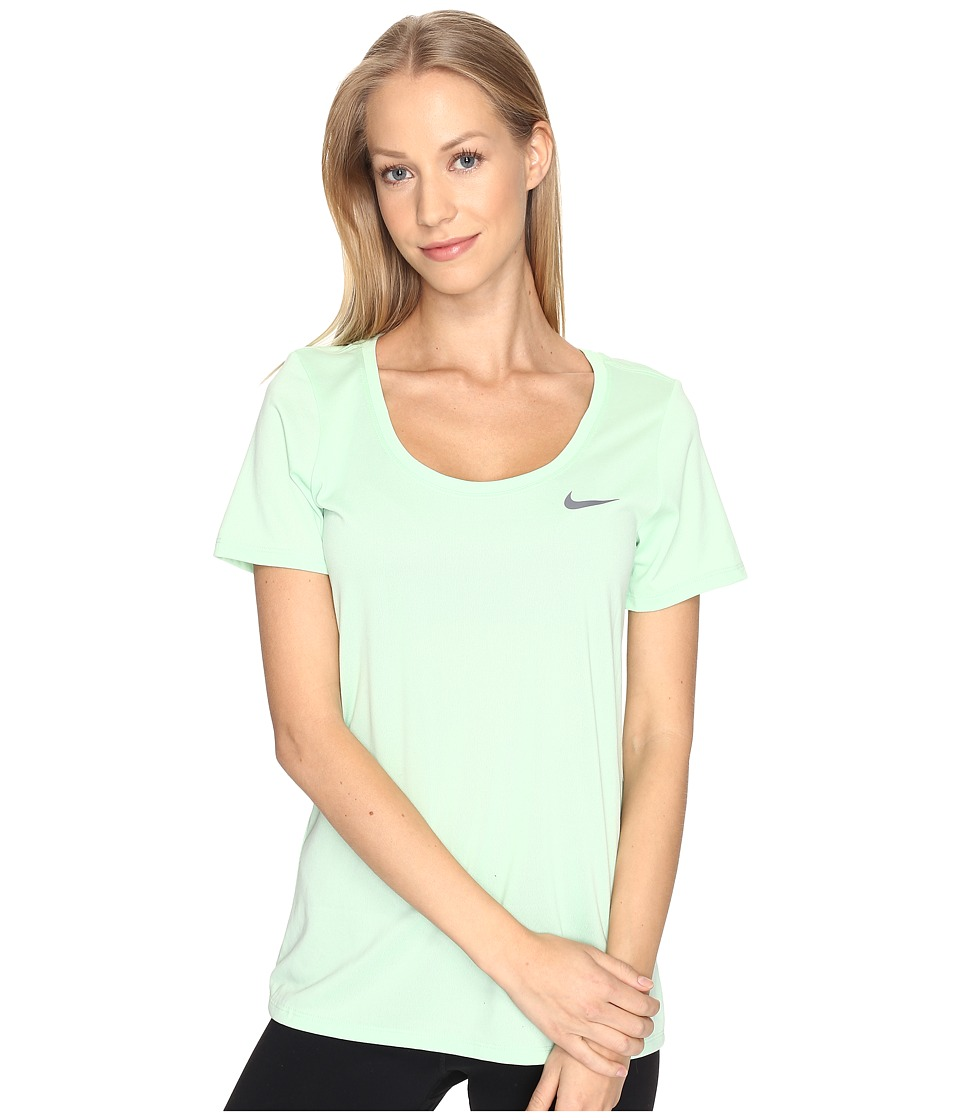 Nike - Dry Training T-Shirt (Fresh Mint) Women's T Shirt