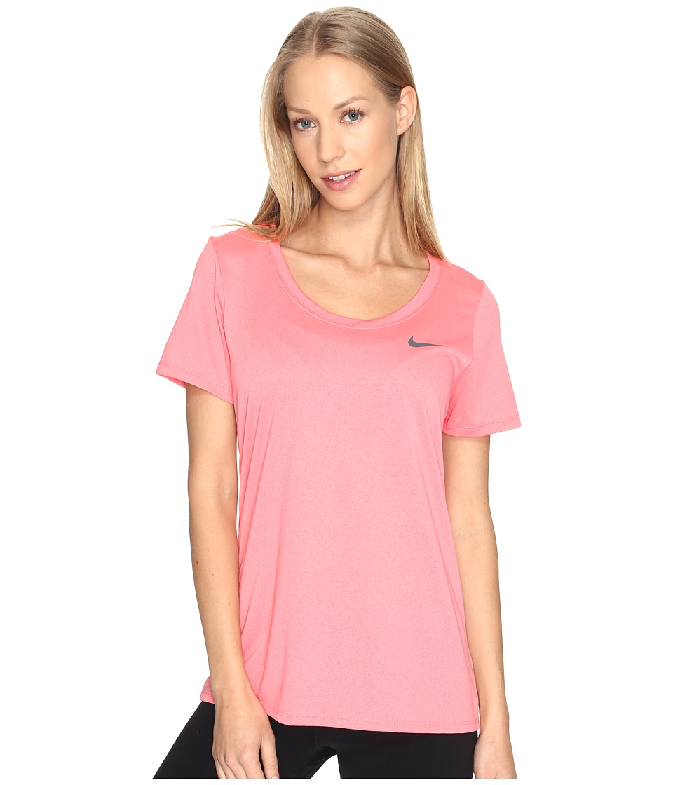 Nike - Dry Training T-Shirt (Bright Melon) Women's T Shirt