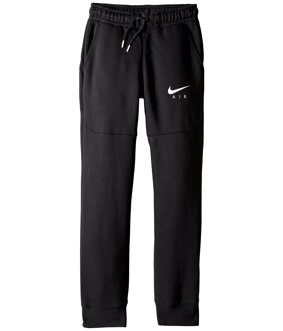 Nike Kids - Air Pant (Little Kids/Big Kids) (Black/Black/White) Boy's Casual Pants